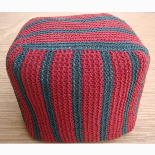 Knitted Poufs RIS-STO-1236