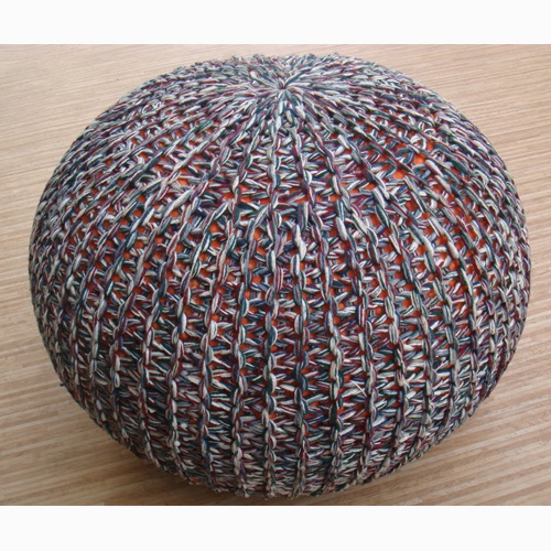 Knitted Poufs-1238